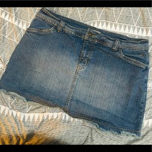 Vans Jean Mini Skirt - Size 13